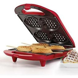 "HF-09031R Heart Waffle Maker Red Kitchen "" Dining"