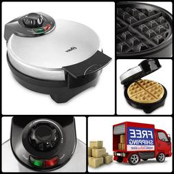 Home Kitchen Cook Waffle Maker Stainless Steel Housing Nonst