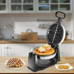 Home Kitchen Stainless Steel Belgian Waffle Maker With Non-s