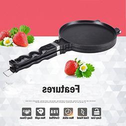 TAMUME Ice Cream Waffle Cone Maker Marquesita Press Ice Crea