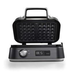 intellicrisp waffle maker dark stainless steel