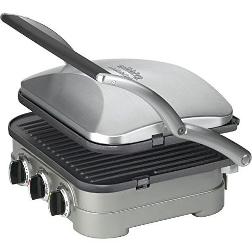 Cuisinart 5-in-1 Panini Maker Bundle Waffle - Grill Plates