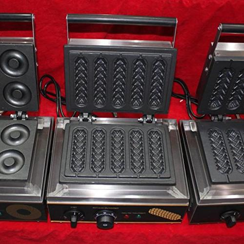 Free Hot 110V/220V Use Lolly Waffle Sausage maker