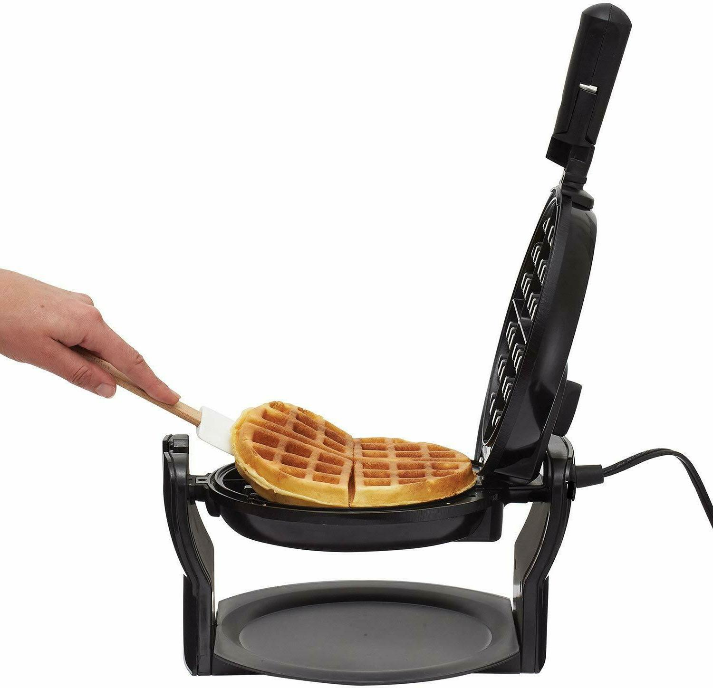 Rotating Classic Non-Stick Round Breakfast Iron
