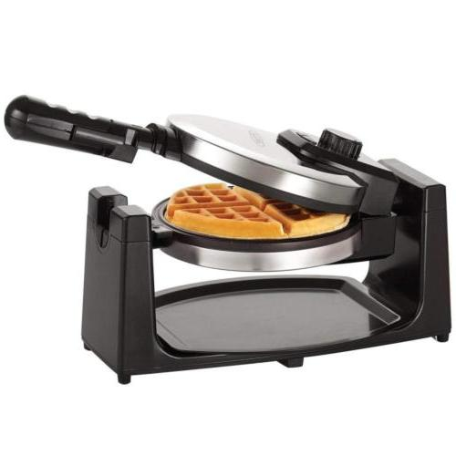 BELLA 13991 Classic Rotating Belgian Waffle Maker, Polished