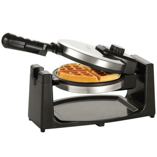 13991 classic rotating non stick belgian waffle