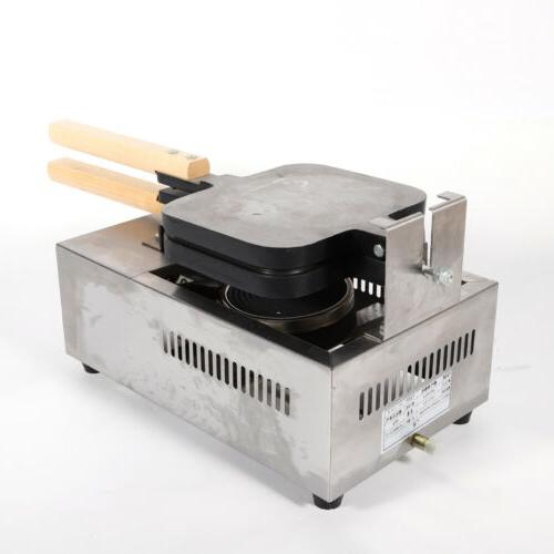 Commercial 4 Hot Dogs Waffle Non-stick TOP