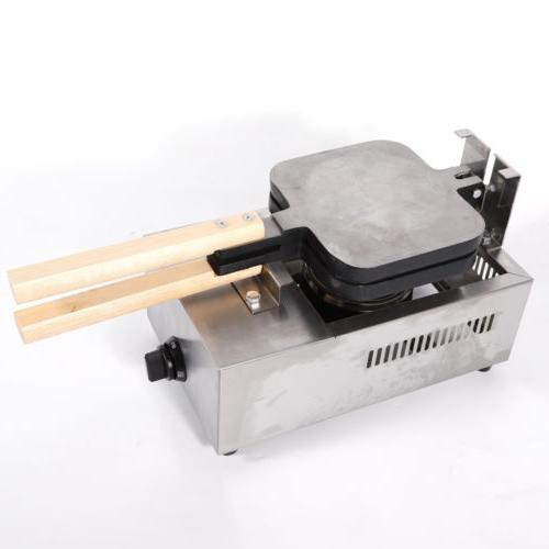 Commercial 4 Waffle Maker Machine Non-stick TOP