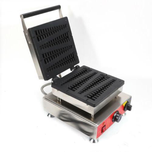 Commercial Nonstick Waffle Maker Iron Baker Machine 110V