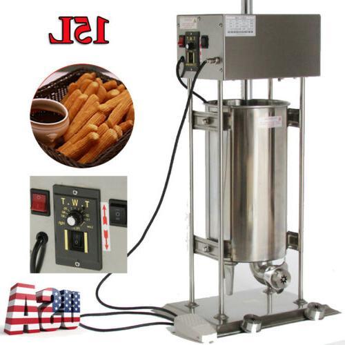15L Spanish Churros Maker Baker Machine 2 Models