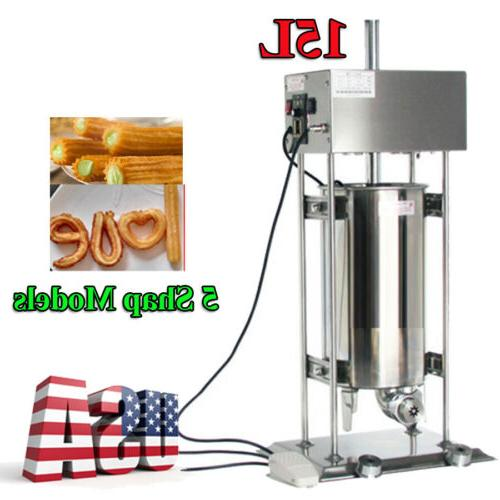 15l 25w commercial electric spanish churros maker