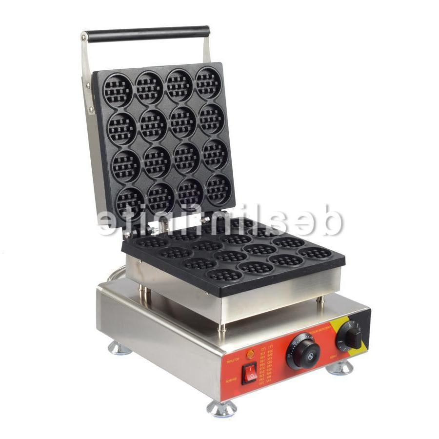 16pcs Electric Waffle Commercial