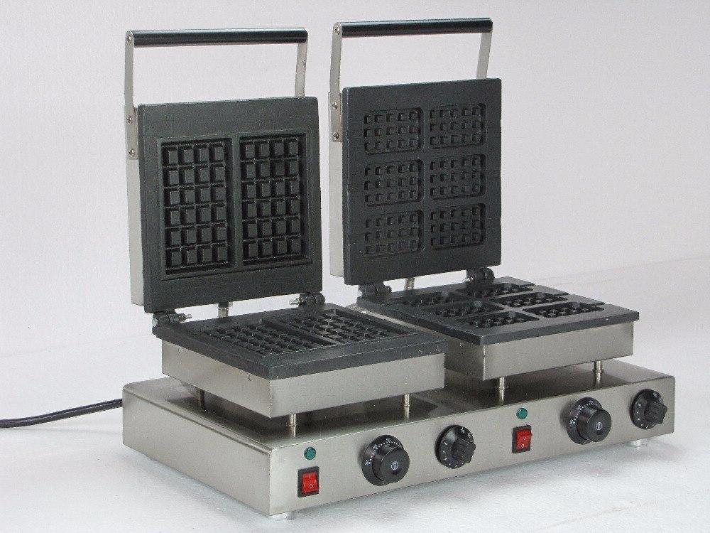 220v electric double font b waffle b