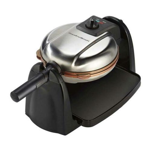 26031 removable grid belgian waffle maker 16