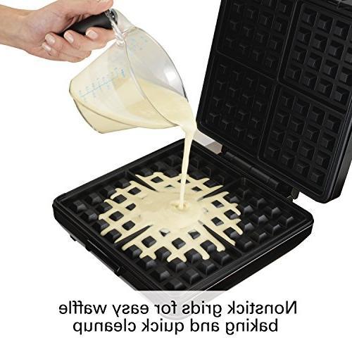 Waffle Maker Black