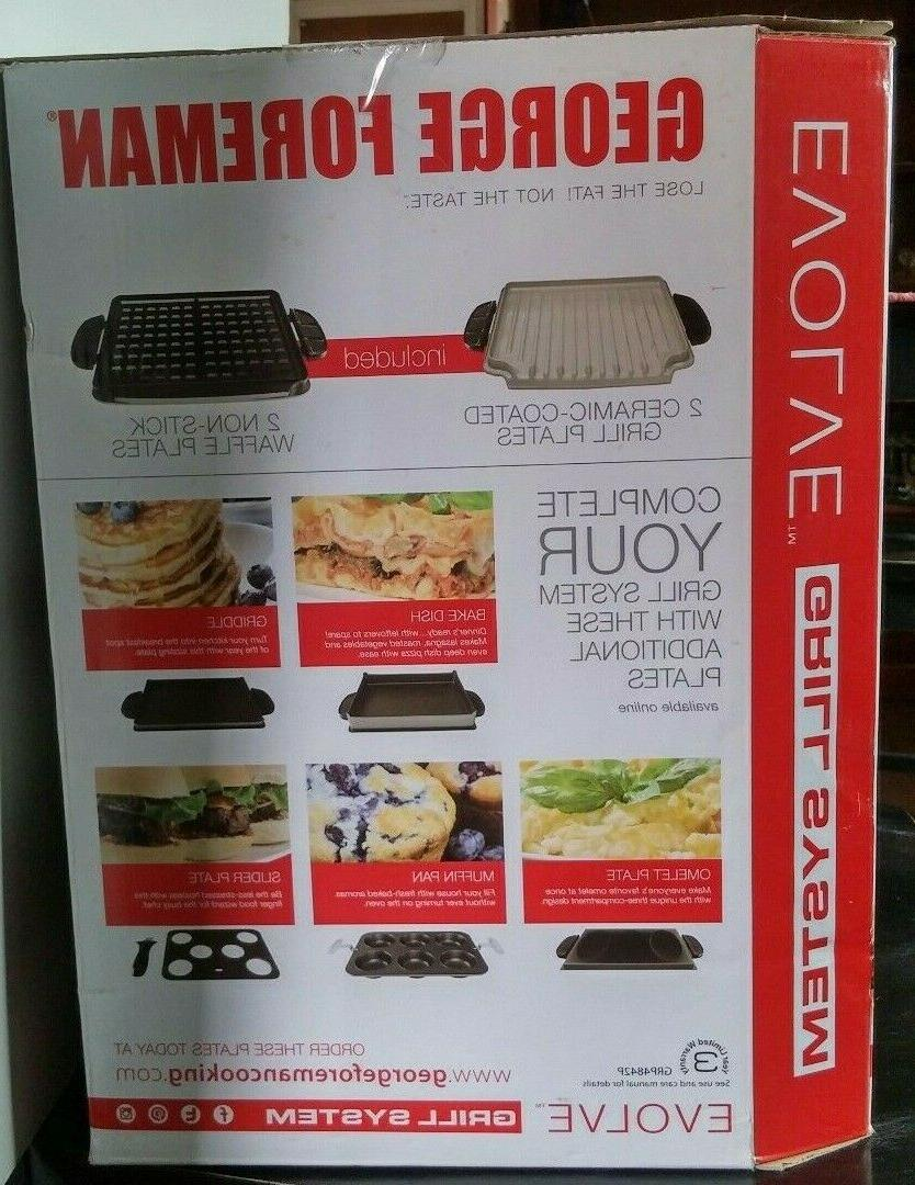 George 1 Grill-Panini-Waffle Maker