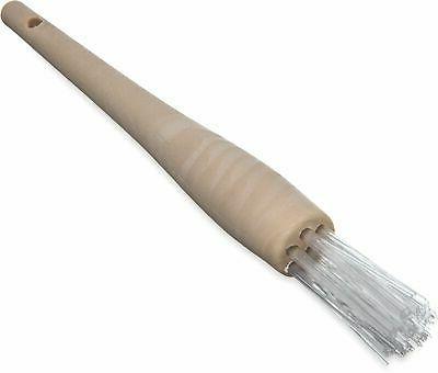4011500 round waffle iron brush with high