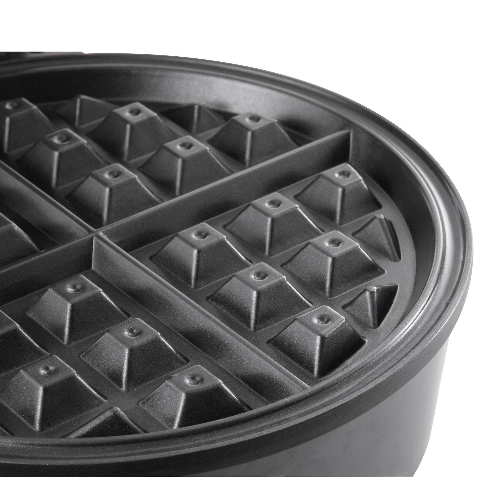 Oster Nonstick Waffle with Control, Silver