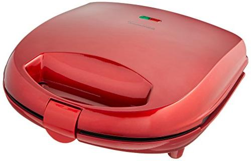 Brentwood TS-244 Waffle Maker, Red Tone