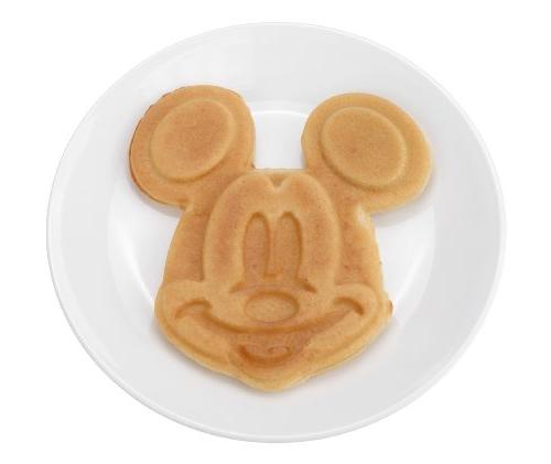 Disney DCM-1 Mickey Waffle Maker, Steel