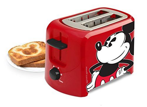 Disney DCM-21 Mickey Mouse 2 Slice Toaster,
