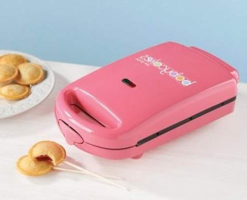 New Babycakes Pie Nonstick Coated Cakes PM16-Pink