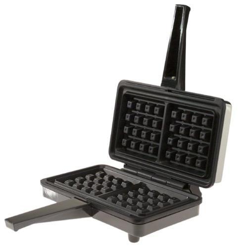 Villaware 5200-NS 2-Square Belgian Waffler with Waffletone A