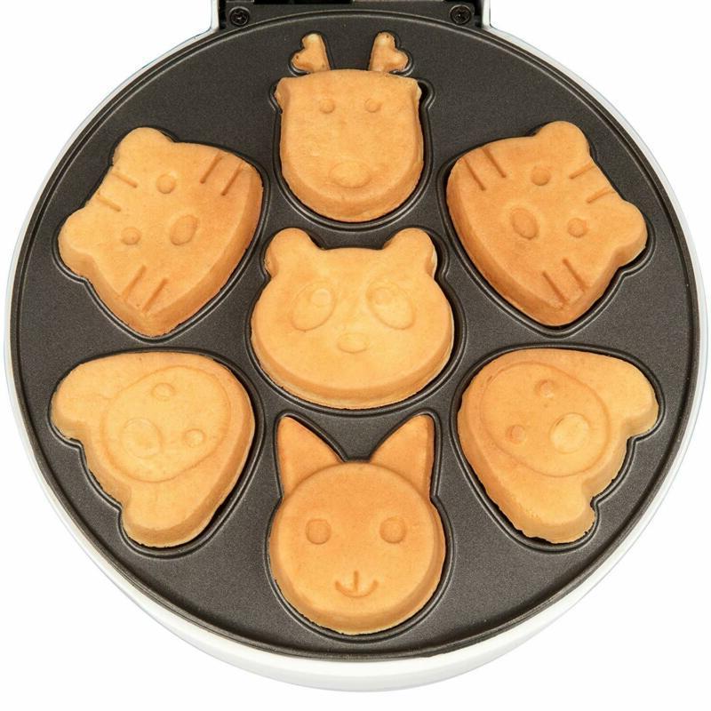 Animal 7 Different Pancakes Anti Waffler Fun Kids
