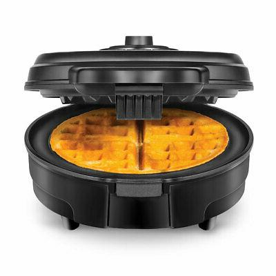 Chefman Anti 4 Belgian Waffle Black
