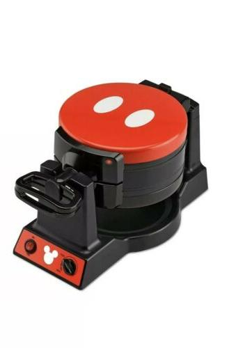 Authentic Disney 90th Double Flip Waffle Maker,NIB,RARE