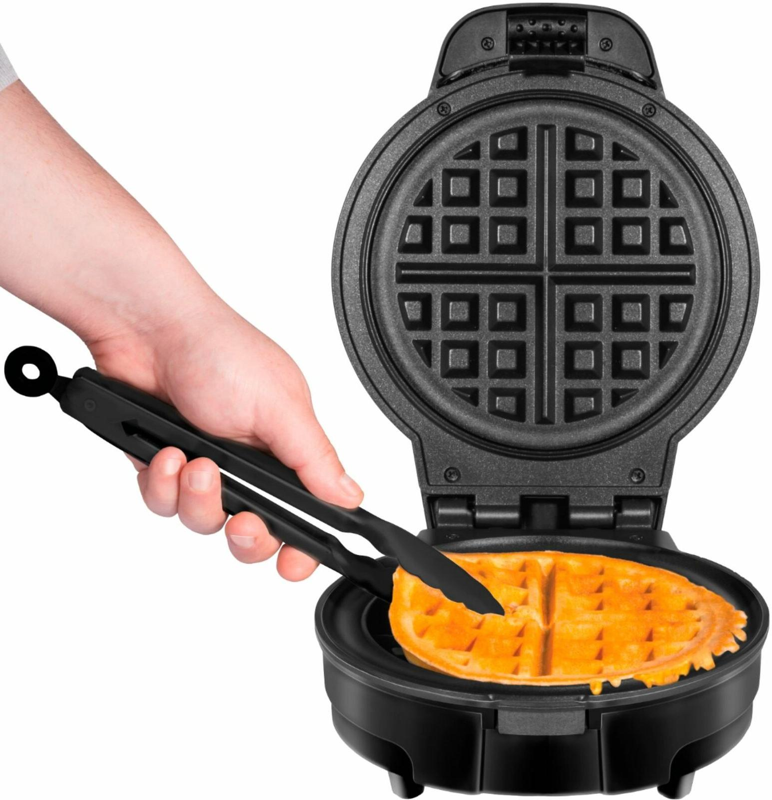 CHEFMAN - Anti-Overflow Waffle Maker Free
