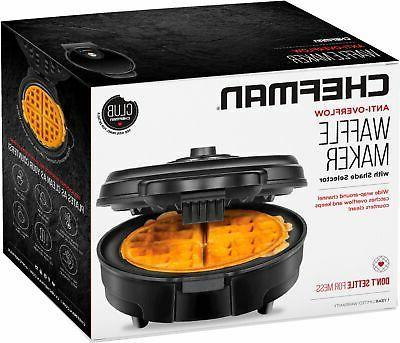 CHEFMAN - Belgian Waffle Maker