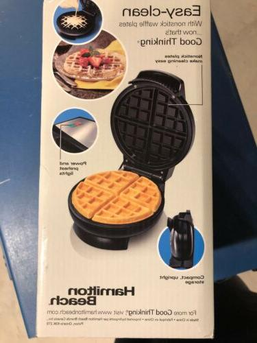 Hamilton Beach Belgian-Style Waffle Maker
