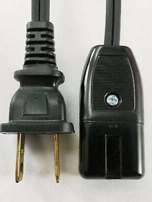 "Vitantonio Belgian Waffle 550 Maker Power Cord 2 Pin 36""repl"