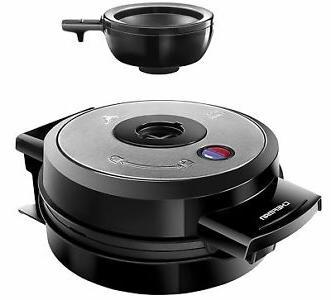belgian waffle maker black rj044rv