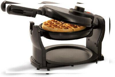 belgian waffle maker classic rotating handle non