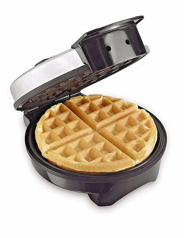 Belgian Waffle Commercial Double Breakfast Kitchen Steel