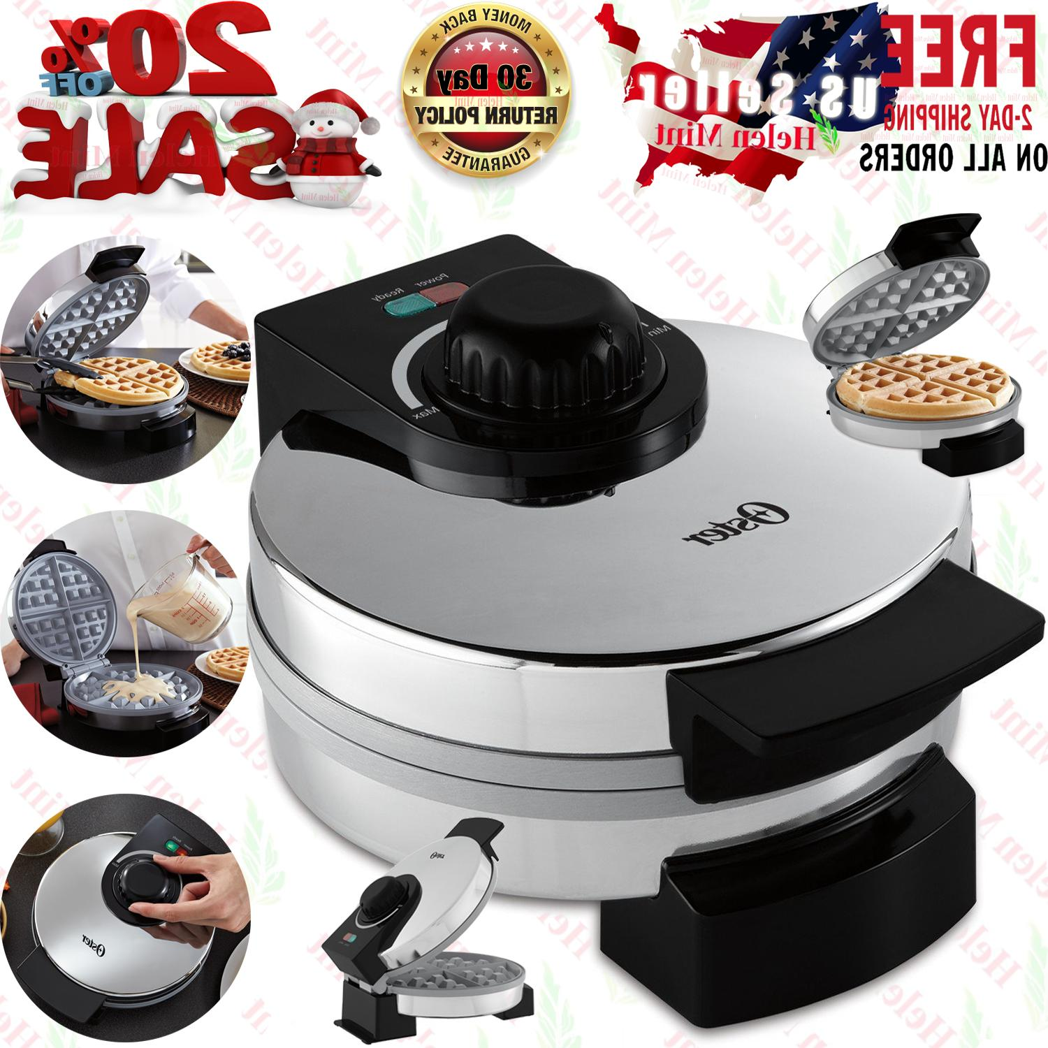 belgian waffle maker commercial round breakfast non