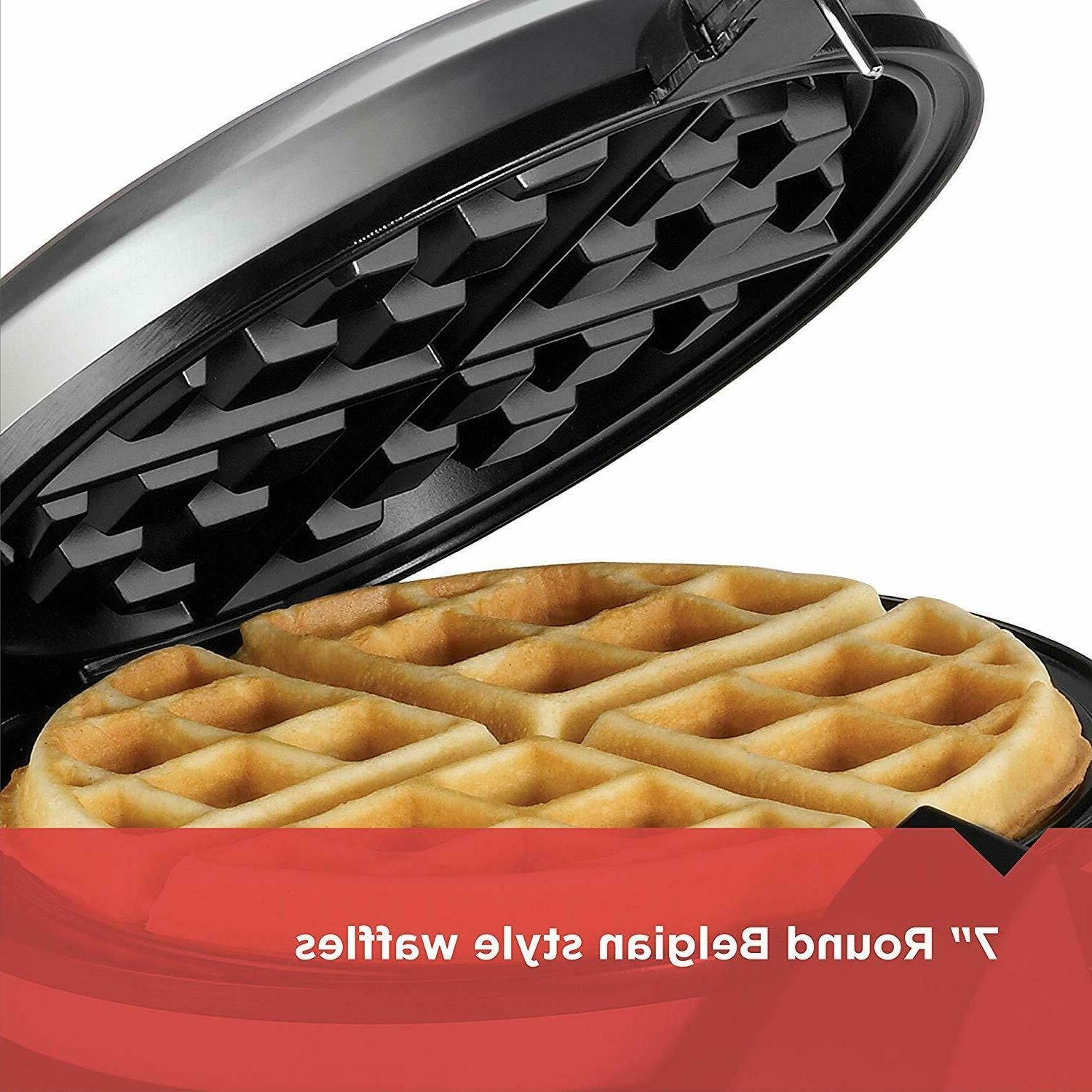 Belgian Waffle Maker Silver Belgium Best Rotating Rotate Makers New