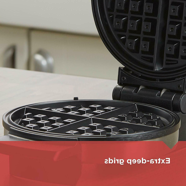 Belgian WAFFLE Stainless Steel Kitchen Iron