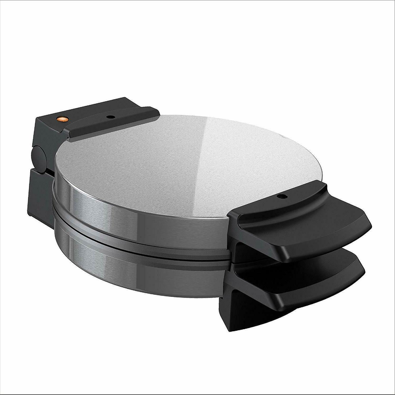 Belgian Commercial Stainless Steel Round Breakfast Kitchen Iron