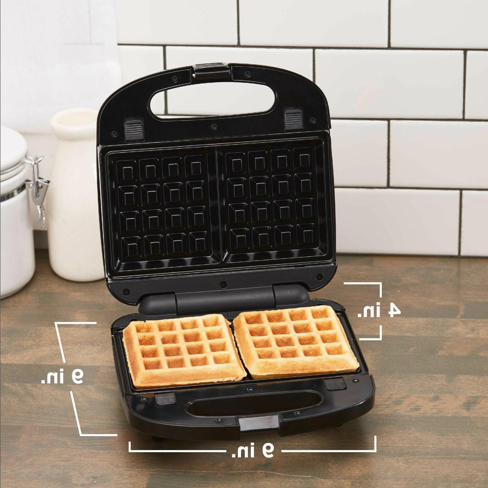 BLACK and DECKER in Meal Waffle Sandwich Maker Non Stic