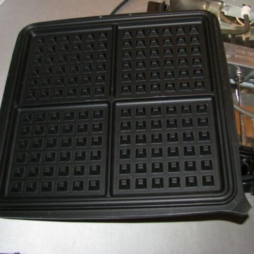 Black Decker 3-in-1 Waffle Maker Griddle G48TD 900 Inst