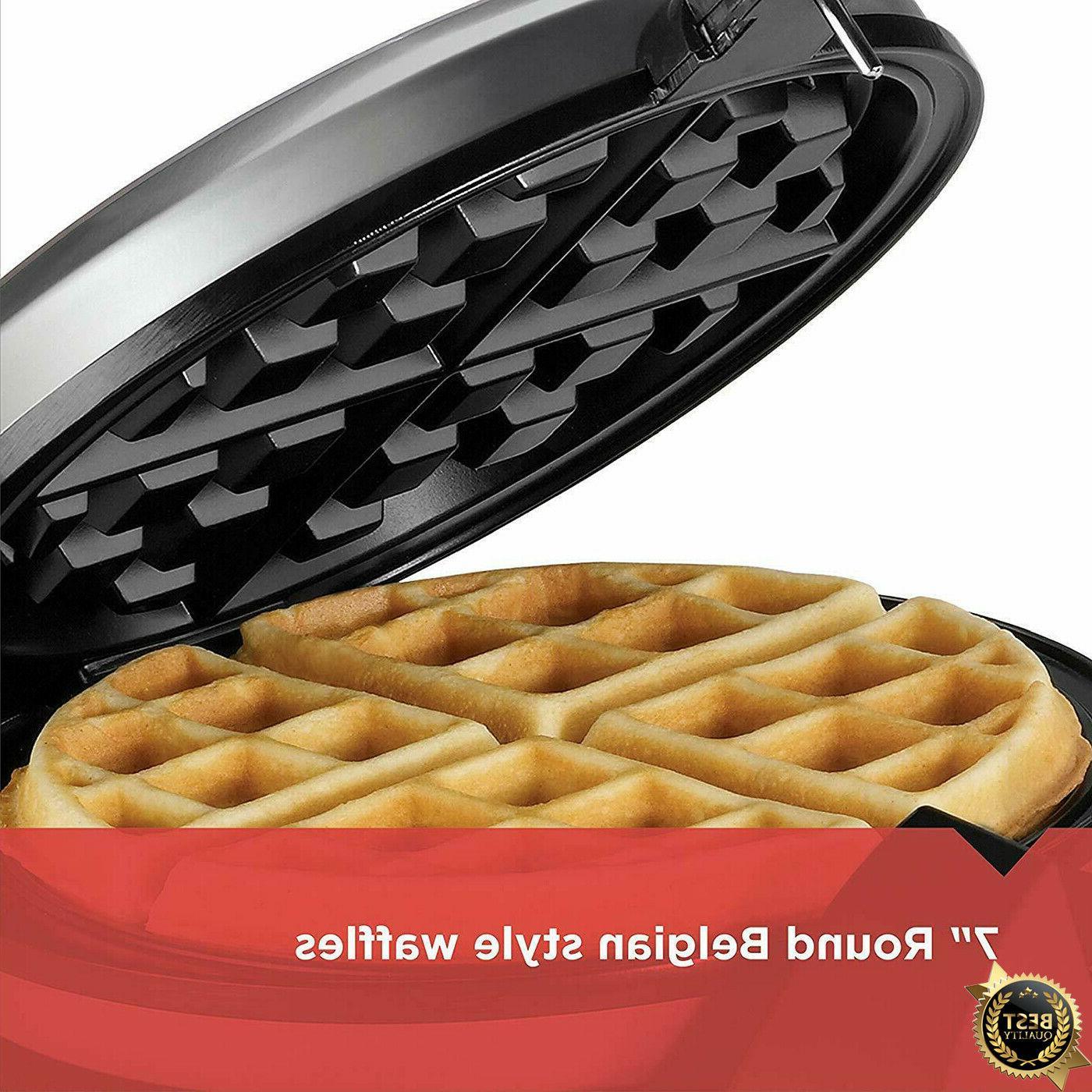 BLACK+DECKER Waffle Stainless steel,