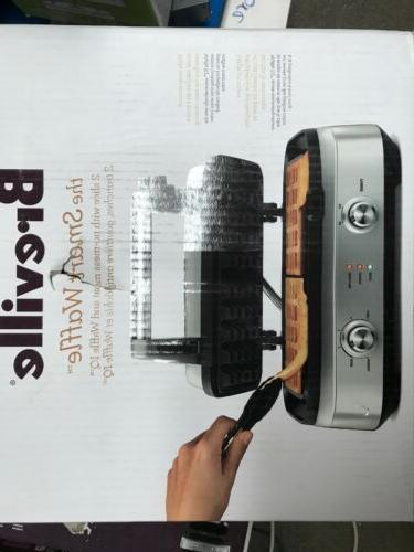 Breville BWM602BSS The Smart Waffle