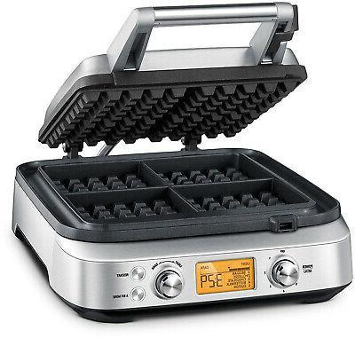 Breville BWM640XL Smart Waffle Silver
