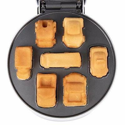 Car Mini Waffle - Make 7 Fun, Different Race Cars, Trucks, and