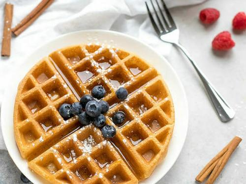 BELGIAN Commercial Non Stick Round Waffles