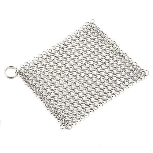 Cast Iron Mesh Durable for Pan in Home Kitchen