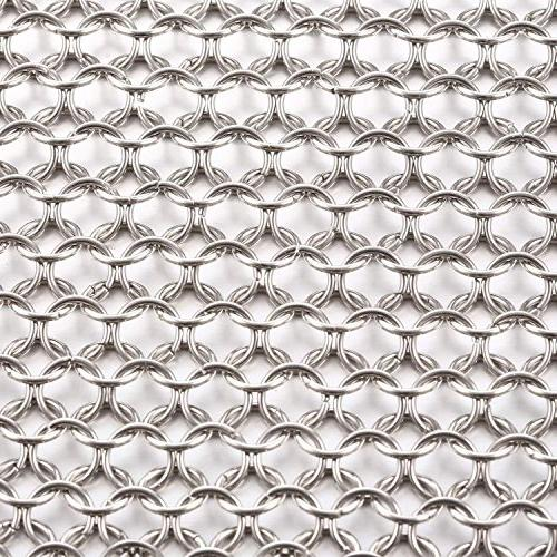 Cast Iron Mesh for Griddle Grill Pan Sink in Home Kitchen